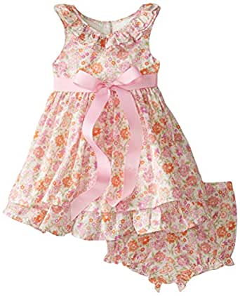 Amazon Laura Ashley London Baby Girls Ruffle Neck