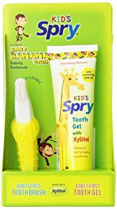 Baby Banana Brush And Tooth Gel Combo Pack