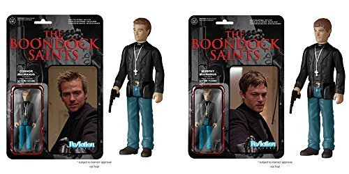 Boondock Saints Connor and Murphy MacManus ReAction 3 3/4-Inch Retro Action F...