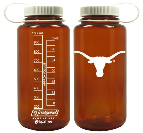 Texas Longhorn Ncaa Nalgene Brand Water Bottle front-428141