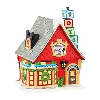 Department 56 Disney Village Mickeys Toy Store Figurine
