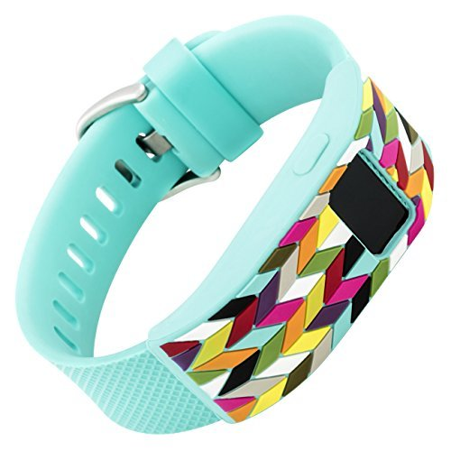 french-bull-fitbit-charge-fitbit-charge-hr-slim-designer-sleeve-band-cover-teal-ziggy-by-withit