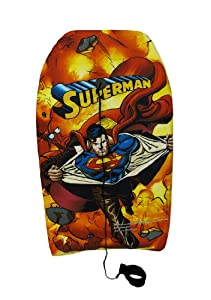 Colorful Superman Explosion Body Board 33 in.