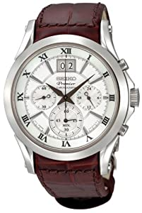 Seiko Premier Chronograph Mens Watch SPC059