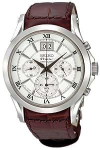 Seiko Premier Chronograph Mens Watch SPC059