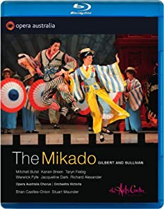 Gilbert Sullivan The Mikado The Arts Centre Opera Australia Opoz56015bd Blu-ray from Opera Australia