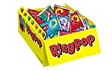 Bazooka Ring Pop Box, 0.50 Ounce (Pack of 24)