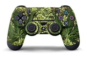 PS4 Controller Designer Skin for Sony PlayStation 4 DualShock Wireless Controller - Skunk Bud