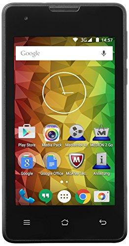 Medion E4005 Smartphone (4 Zoll (10,2 cm), 1,3GHz Quad-Core...