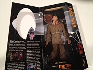 "Star Trek Collectors Classic Edition - 12"" Mr. Spock As Seen in Star Trek Orginal TV Series From the Episode ""A Piece of Action"" - Limited Edition Only 1,000 Made"