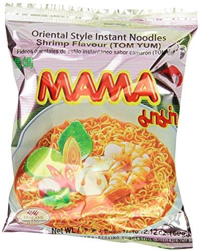 Thai Mama Tom Yum Shrimp Flavor Instant Noodles