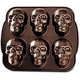 Nordic Ware 3 D Skull Cake Pan Amazon Co Uk Kitchen Amp Home