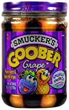 Smucker's Goober Peanut Butter & Grape Jelly Stripes - 18 oz Glass Jar
