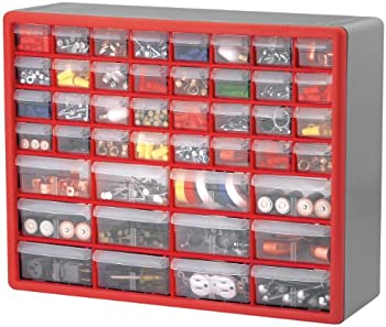 2-Pk. Akro-Mils 44-Drawer Cabinets