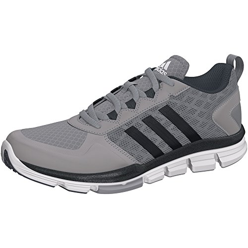 Adidas Performance Men's Speed Trainer 2 Training Shoe, Light Onyx Grey/Carbon Metallic/White, 10 M US