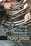 img - for Human Resource Management: International Perspectives in Hospitality and Tourism book / textbook / text book
