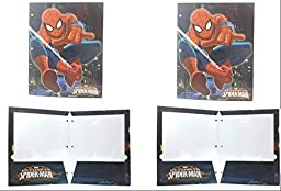 Marvel Ultimate Spider-man 2-pocket Portfolio Folders (2-pack)