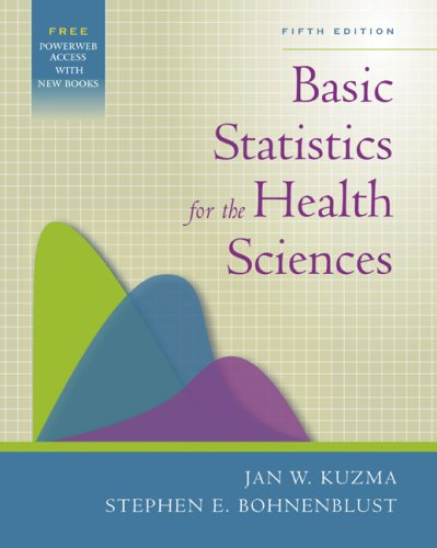 Basic Statistics for the Health Sciences