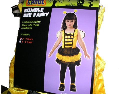 Toddler Bumble Bee Fairy Halloween Costume