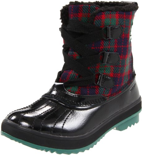 Sorel Women's Tivoli Plaid NL1776 Boot,Galapagos Green/Black,8 M US