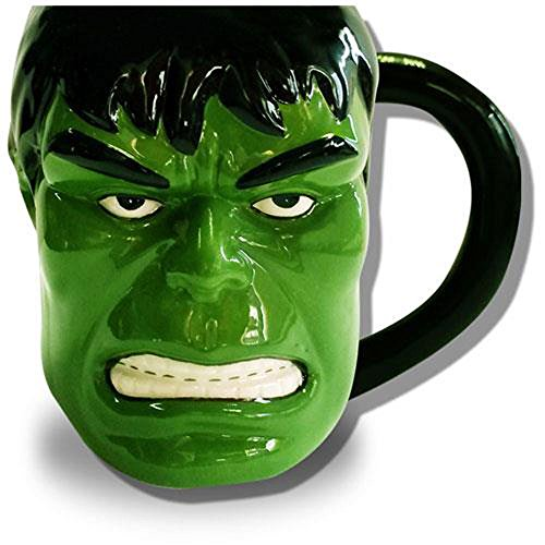 Import-AnglaisMarvel-Comic-Burst-3D-Mug-Hulk