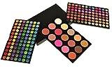 Gaga Cosmetics Professional 183 Color Combo Makeup Palette Set 168 Eyeshadow 9 Blush & 6 Contour Powder