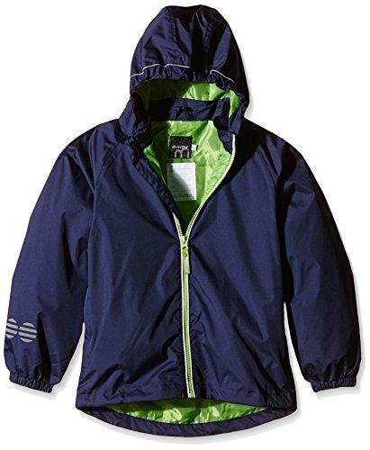 Minymo Basic 22 -rain Jacket -solid-impermeable Bambino    Blu (Dark Navy) 7 anni