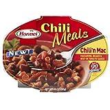 Hormel Chilli N Mac,  6 - 10-Ounce Microwavable Trays ~ Hormel
