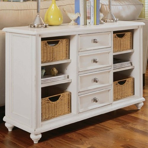 Cheap American Drew 920-925 Camden-Light Console Table in White Painted 920-925 (920-925)