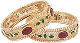 Gauuhar Gold Copper Kadaa For Women (Mt616)