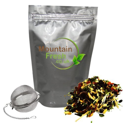 Red Clover Tea Free Infuser Flavoured With A Hint Of Natural Mint Makes 60+ Cups