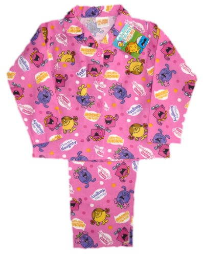 Mr Men Little Miss Buttoned Girls Pyjamas aw10 - 18-24 Months by ThePyjamaFactory