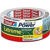 tesa 56395 Extreme Outdoor Gaffer Tape, 48mm x 20M - Transparent