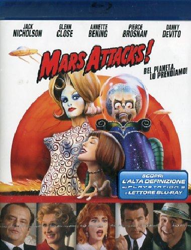 Mars attacks! [Italia] [Blu-ray]