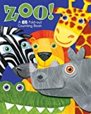 ZOO! A Big Fold Out Counting Book: A Fold-Out Book About Counting