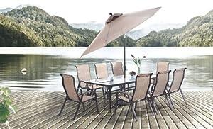 Beautiful pc Alta Cast Aluminum Outdoor Dining Table