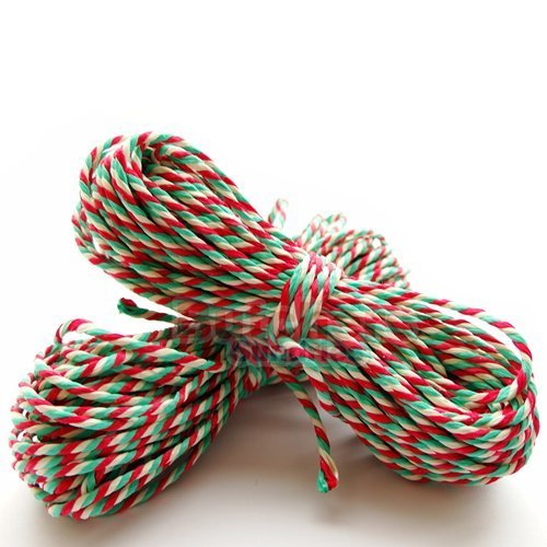 10m-of-food-safe-rayon-christmas-red-white-green-christmas-candy-cane-bakers-twine-10m-crafts-butche