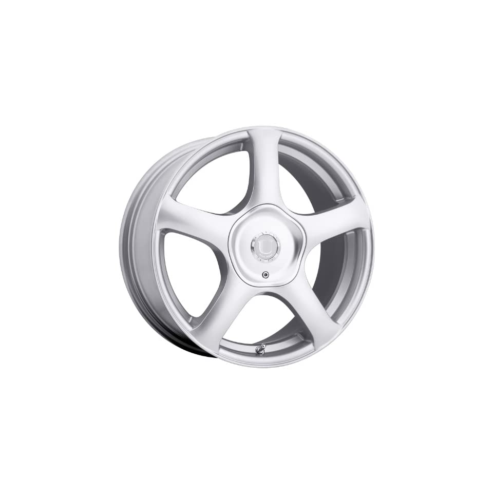 Ultra Alpine 17 Silver Wheel / Rim 5x4.5 & 5x4.25 with a 45mm Offset and a 73 Hub Bore. Partnumber 402 7814+45S