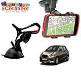 ECellStreet TM Mobile phone soft tube mount holder with suction cup - Multi-angle 360° Degree Rotating Clip Windshield Dashboard Smartphone Car Mount Holder AutoAccessory