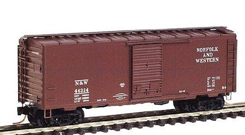 Micro Trains N 20606, 40' Standard Box Car, Single Door, Norfolk & Western N&W #44324 (N Scale)