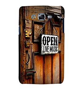 Omanm Open Live Music Printed Designer Back Cover Case For Samsung Galaxy J7