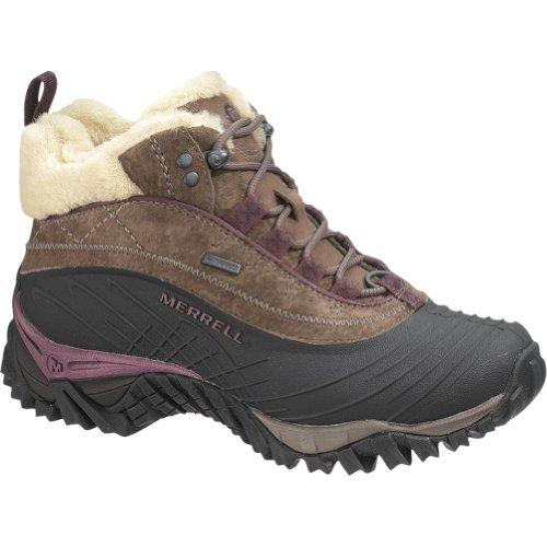 merrell women s isotherm mid waterproof hiking shoe