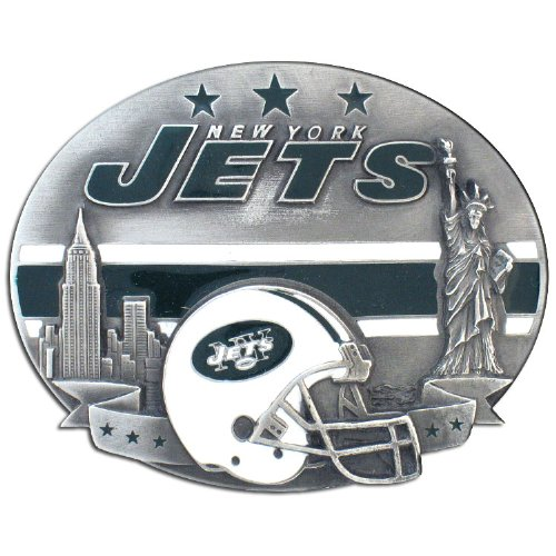NFL New York Jets Belt Buckle at Amazon.com