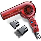 Elevate by Andis 30865 Professional Tourmaline Ionic Ceramic 1600 Watts Hair Dryer