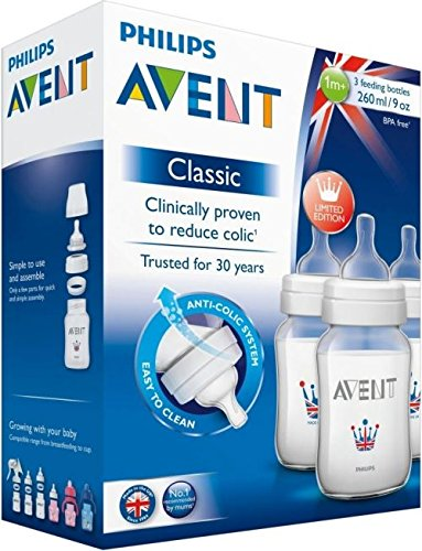 Avent Classic Feeding Bottle 260Ml (3)