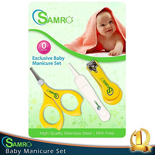 Nail Set With Scissors and Nasal Clippers