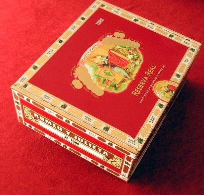 Cigar box, empty, paper covered wooden one 3