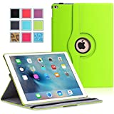 MoKo IPad Pro Case - 360 Degree Rotating Cover Case For Apple IPad Pro 12.9 Inch IOS 9 2015 Release Tablet, GREEN