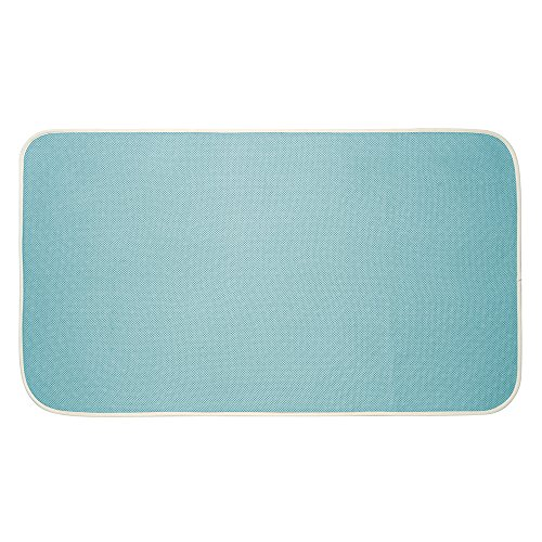 MDesign Microfiber Shower And Bath Mat For Bathroom Floor