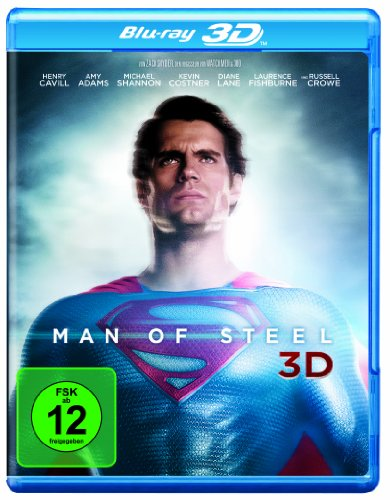 Man of Steel 3D [3D Blu-ray]